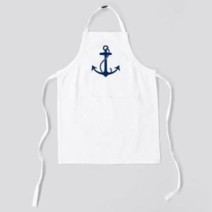 anchor_blue Kids Apron